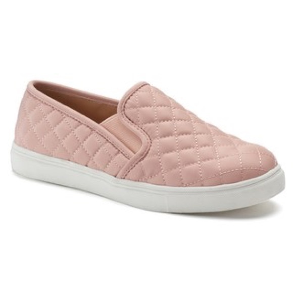 brand new los angeles good Steve Madden Shoes | Ecntrcqt Blush Quilted Sneakers 85 | Poshmark